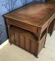 Victorian Oak Aesthetic Movement Desk (14 of 18)