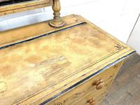 Antique Painted Pine Dressing Chest (5 of 13)