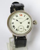 Gents Antique Silver Waltham Wrist Watch (2 of 5)