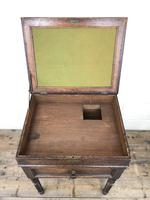 Early 19th Century Oak Box on Stand (6 of 12)