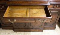 Antique 19th Century Mahogany Breakfront Bookcase (12 of 12)