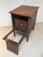 Unusual Oak Filing Cabinet (7 of 10)