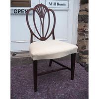 18th Century Hepplewhite Mahogany Single Chair (4 of 5)