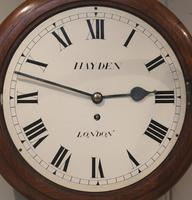 Light Mahogany Fusee Dial Clock (4 of 7)