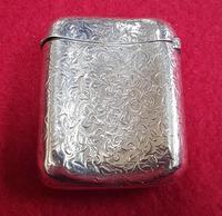 Large Sterling Silver Vesta Case (2 of 3)