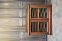 Antique Mahogany Side Cabinet (7 of 9)