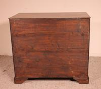 18th century Georgian chest of drawers in oak from England (5 of 8)