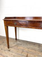 Victorian Two Drawer Mahogany Side Table (5 of 13)