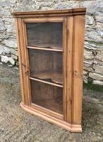 Antique Pine & Elm Hanging Corner Cupboard (2 of 11)