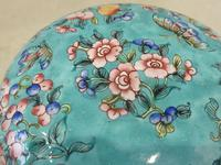 Antique Chinese Large Canton Enamel Box c.1900 - Late Qing (6 of 7)