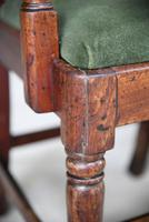 4 Antique Georgian Mahogany Dining Chairs (8 of 12)