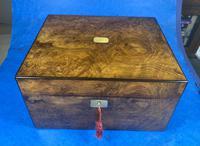 Victorian Figured Walnut Box (3 of 10)