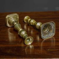Victorian Brass Candlesticks (10 of 10)