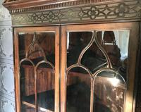 Edwardian Mahogany Corner Cabinet (5 of 9)