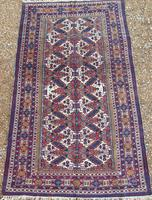 Good Antique Caucasian Carpet