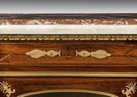 Regency Period Goncalo Alves Side Cabinet of Slightly Inverted Breakfront Form (4 of 8)