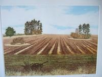 """Gilbert Browne Lithographic Print """"Harvest's End"""" (2 of 5)"""