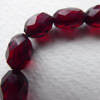 Cherry Red Bakelite Bead Necklace (4 of 7)
