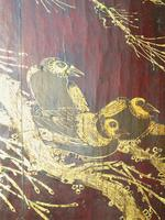 Impressive Pair of Chinese Chinoiserie Lacquered Panels (10 of 10)