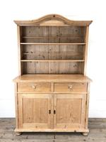 Antique Pine Country Dresser with Shaped (4 of 7)
