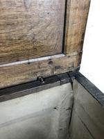 Early 19th Century Antique Oak Coffer Blanket Box (18 of 19)