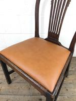 Georgian Chair with Drop-in Leather Seat (11 of 13)