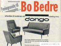 1960s, Restored Danish High-backed Armchair, Model Congo, Furniture Wool (13 of 13)