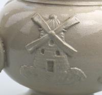 An Attractive Stoneware Pottery Staffordshire / Denby Puzzle Jug C.19thc (8 of 14)