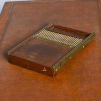 Victorian Mahogany & Brass Pill Maker (5 of 9)