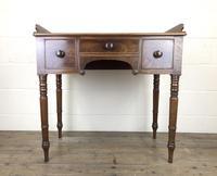 Antique Victorian Mahogany Ladies Writing Desk (17 of 17)