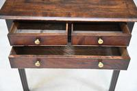 Georgian Mahogany Lowboy (3 of 11)