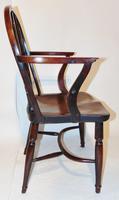 Georgian Yew-wood Windsor Elbow Chair (7 of 7)