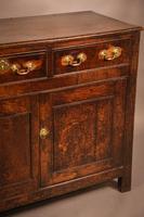 Small Georgian Serving Dresser in Oak (9 of 11)