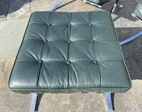 Pair of Barcelona Chairs & Ottoman (19 of 30)