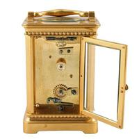 Edwardian French Brass Carriage Clock (6 of 8)