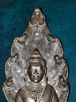 18th / 19th Cambodian Bronze Mucalinda Buddha (7 of 13)