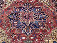 Antique Heriz Carpet 3.20m x 2.37m (4 of 10)