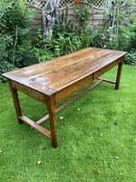18th Century Cherrywood Farmhouse Table (6 of 9)