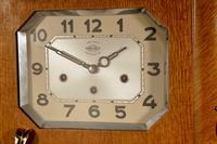 A Westminster Girod Carillon Oak, Rosewood Wall Clock French Circa 1955 (5 of 11)