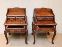 Pair of French Solid Oak Bedside Cabinets (4 of 8)