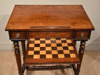 William IV Mahogany Games Table (4 of 13)