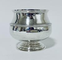 Antique Solid Sterling Silver Sugar Bowl by Walker & Hall (10 of 12)