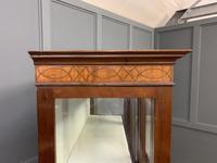 Edwardian Inlaid Mahogany & Satinwood Display Cabinet (8 of 12)