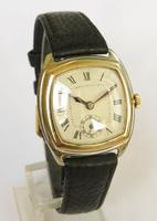 9ct Yellow Gold & White Gold Mid-size Wrist Watch 1927 (2 of 5)