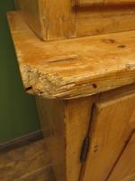Antique Pine Kitchen Dressser with Glazed Top, Country Dresse. modestly sized (4 of 19)