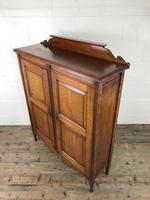 Victorian Mahogany Two Door Cupboard (11 of 13)