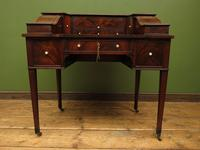 Antique 19th Century Carlton House Desk Mahogany Writing Table of Immense Character (15 of 30)