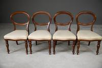 Set 4 Victorian Style Dining Chairs (7 of 11)