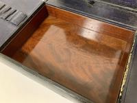 Antique Victorian Leather Document Writing Box (5 of 19)
