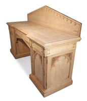 Carved Oak Pedestal Sideboard (8 of 13)